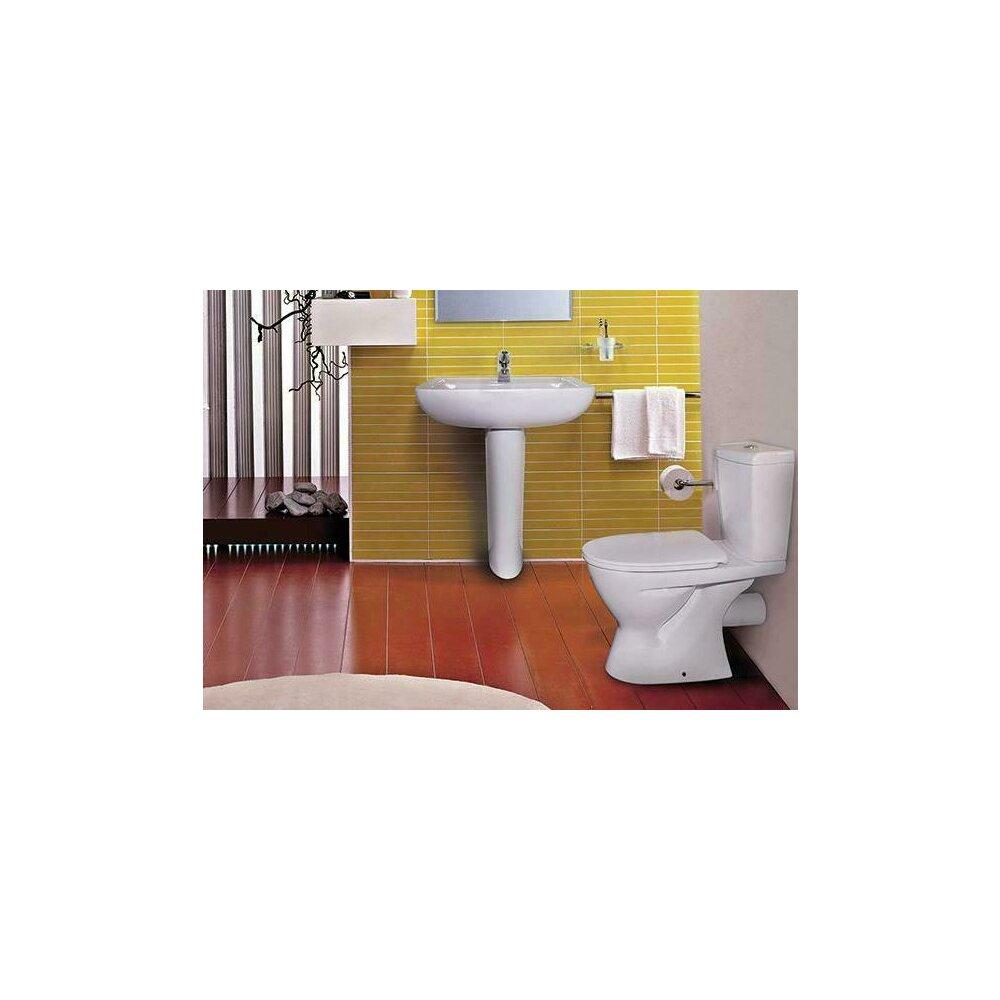 Set complet vas WC Ideal Standard Eurovit cu rezervor si capac inchidere lenta poza