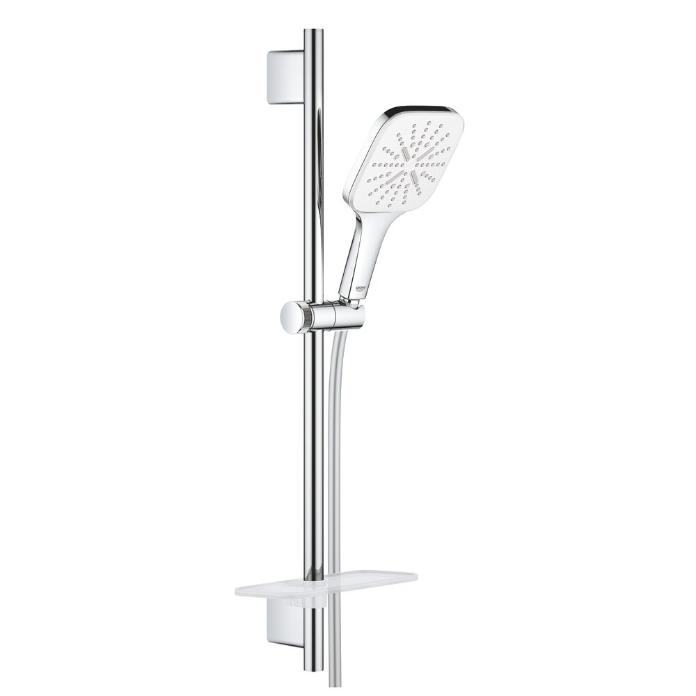 Set de dus Grohe Rainshower 130 SmartActive Cube cu 3 pulverizari imagine