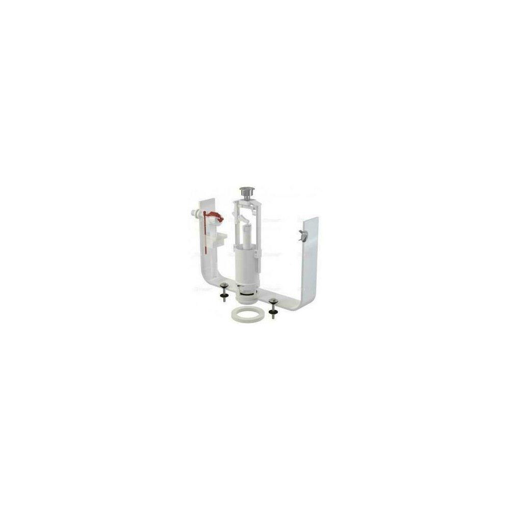Set mecanism wc cu actionare simpla alimentare laterala 1/2 tol SA2000 A15 Alcaplast poza