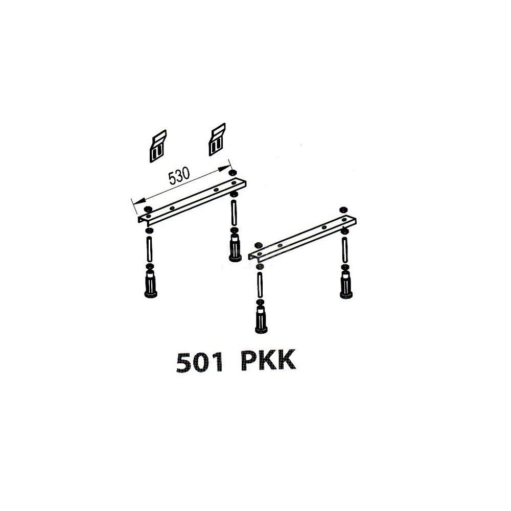 Set picioare cada pentru Kolpasan Elektra 190x90 cm imagine