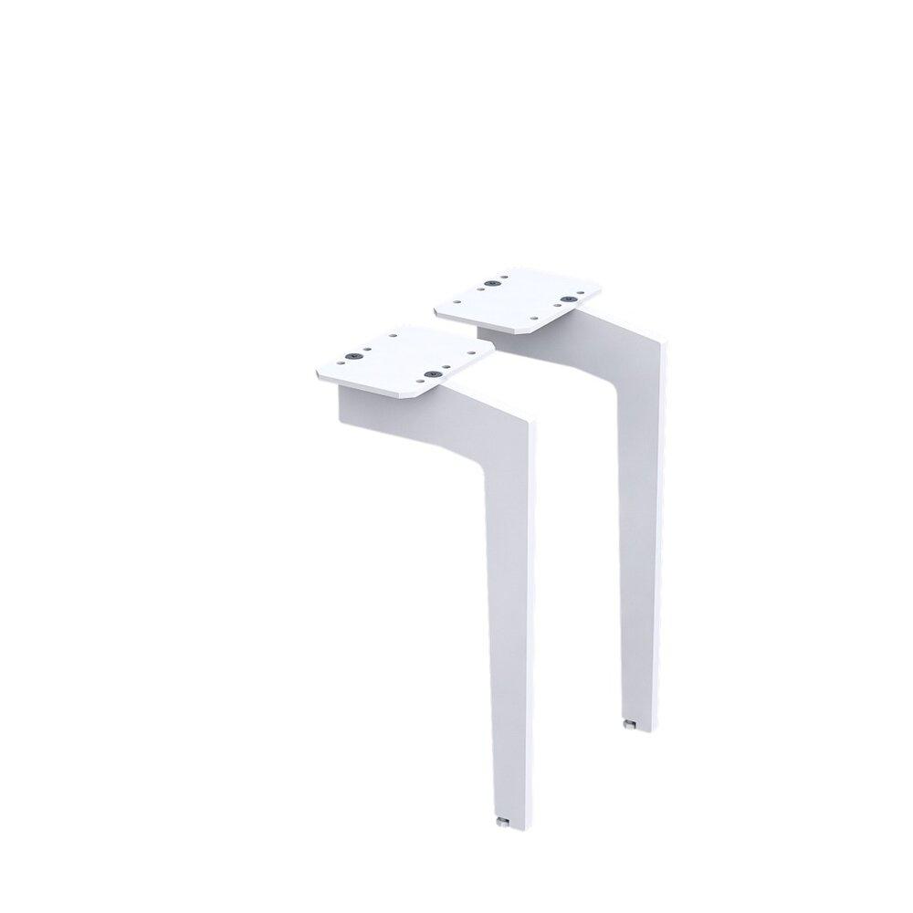 Set picioare pentru mobilier Oristo alb mat 33 cm imagine