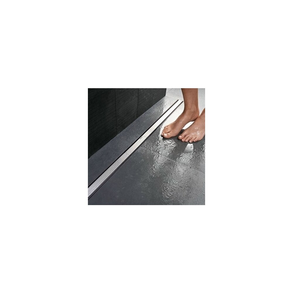 Set rigola pentru dus Geberit CleanLine 65-90 mm plus capac 30-90 cm metal lucios poza