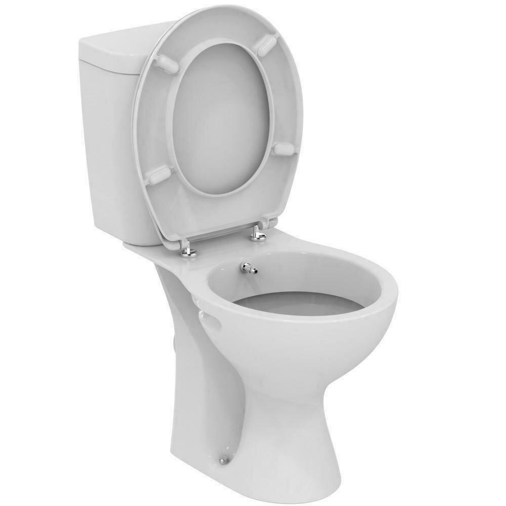 Set vas WC cu rezervor Vidima SevaFresh, functie de bideu, montare pe pardoseala imagine