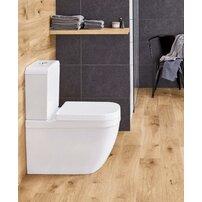 Set vas wc pe pardoseala si rezervor Grohe Euro Ceramic Rimless alimentare laterala