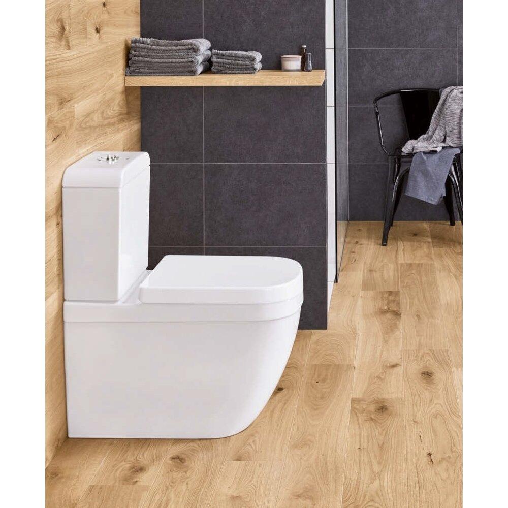 Set vas wc pe pardoseala si rezervor Grohe Euro Ceramic Rimless alimentare laterala imagine