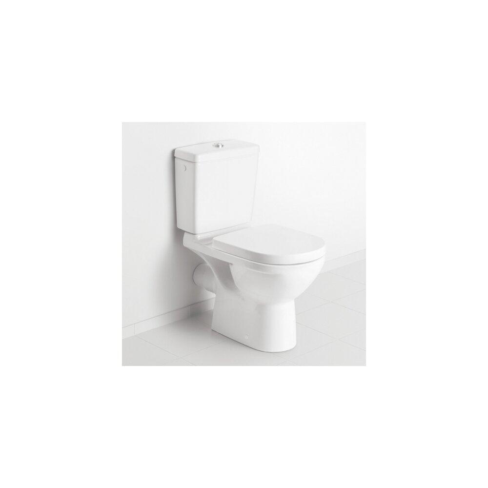 Set vas wc pe pardoseala Villeroy&Boch O.Novo Direct Flush cu rezervor si capac soft close neakaisa.ro