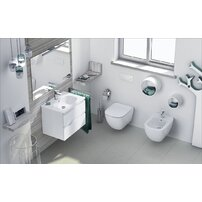 Set vas wc suspendat cu capac softclose si bideu suspendat Ideal Standard Tesi