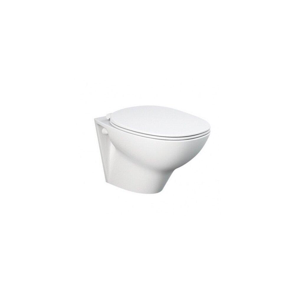 Set vas wc suspendat cu capac softclose Rak Ceramics Morning Rimless poza