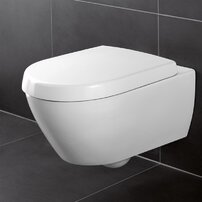 Set vas wc suspendat Villeroy&Boch Avento Direct Flush cu capac soft close