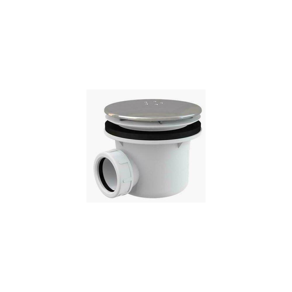 Sifon cadita metalic cromat LUX A49K Alcaplast poza