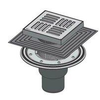 Sifon pardoseala 150 x 150/50/75 cu inaltator, iesire verticala, sistem de retinere a mirosurilor APV4444 Alcaplast