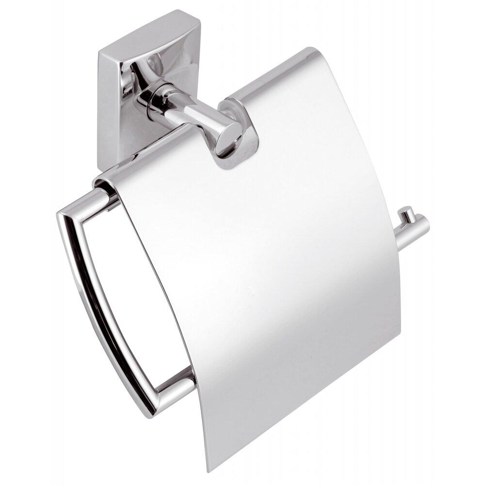 Suport hartie igienica cu protectie crom Ferro Metalia 12 imagine neakaisa.ro
