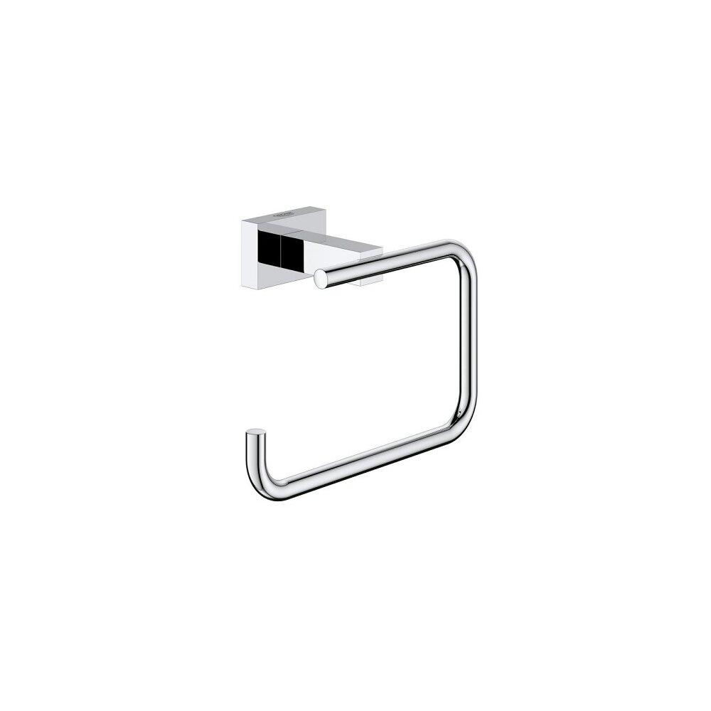 Suport hartie igienica fara aparatoare Grohe Essentials Cube New poza