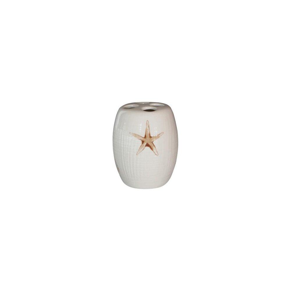 Suport periute de dinti alb Bisk Starfish( 496101)