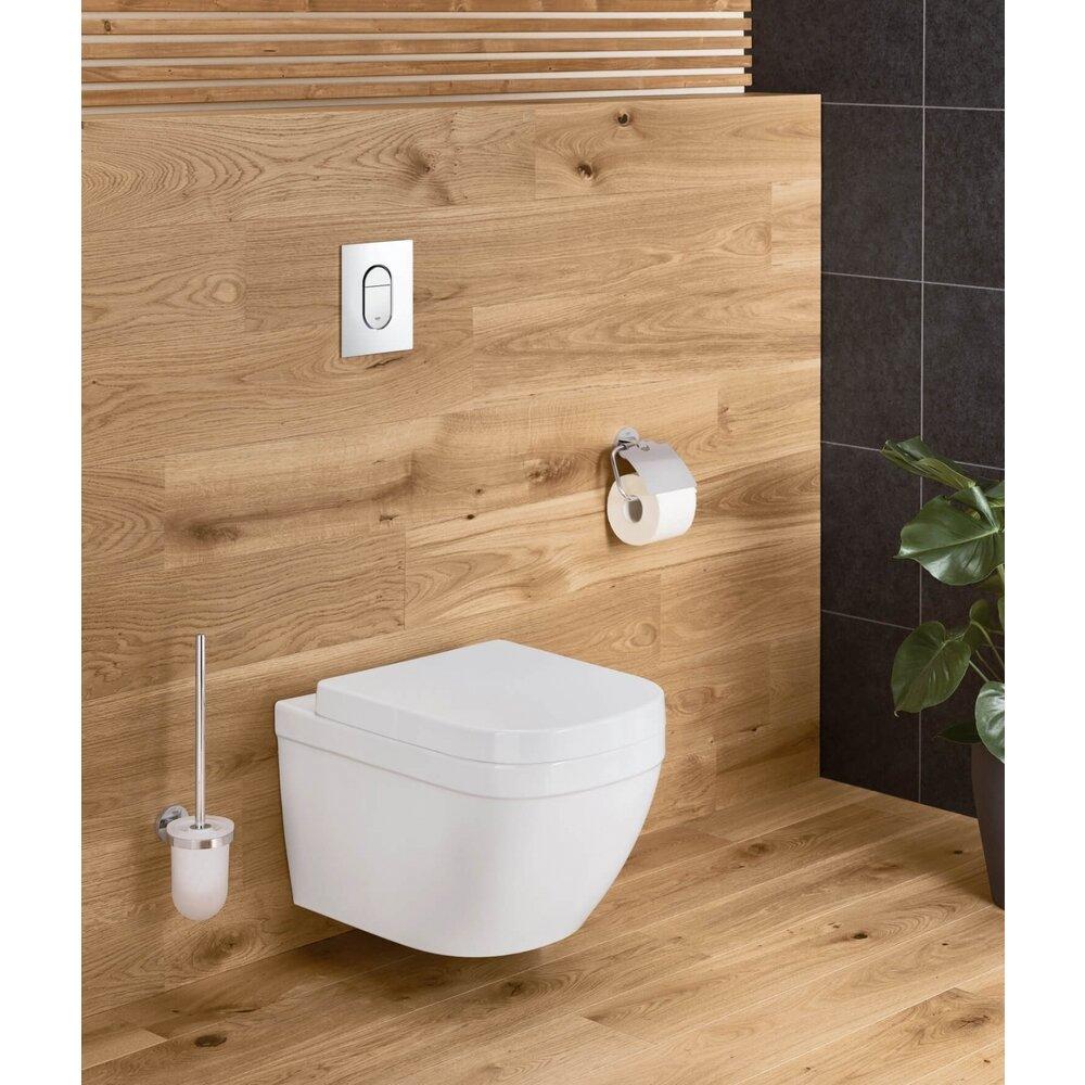 Vas toaleta suspendat Grohe Euro Ceramic Rimless Triple Vortex cu PureGuard poza