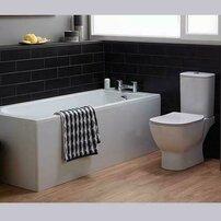 Vas wc pe pardoseala Ideal Standard Tesi AquaBlade pentru rezervor asezat