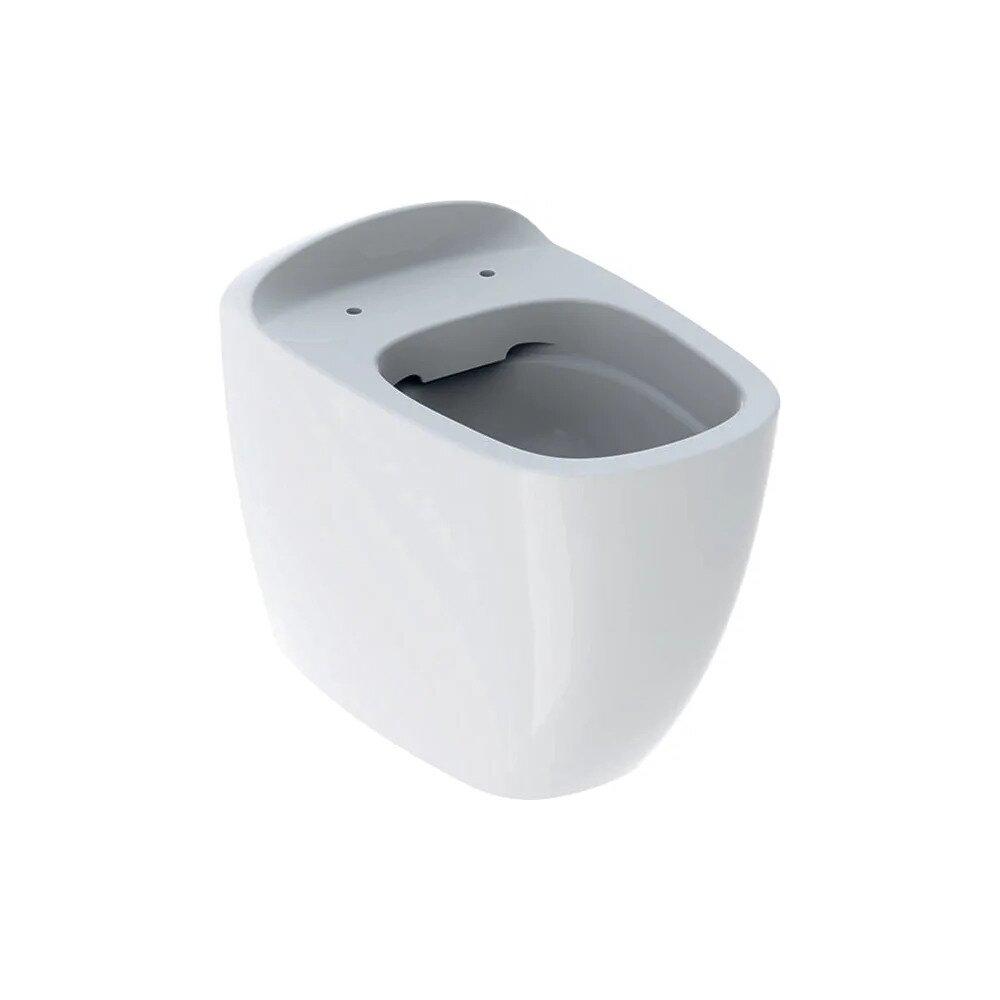 Vas wc pe pardoseala Geberit Citterio Rimfree cu spalare verticala alb imagine