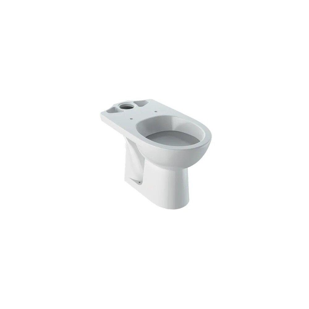 Vas wc pe pardoseala Geberit Selnova cu spalare verticala evacuare verticala imagine