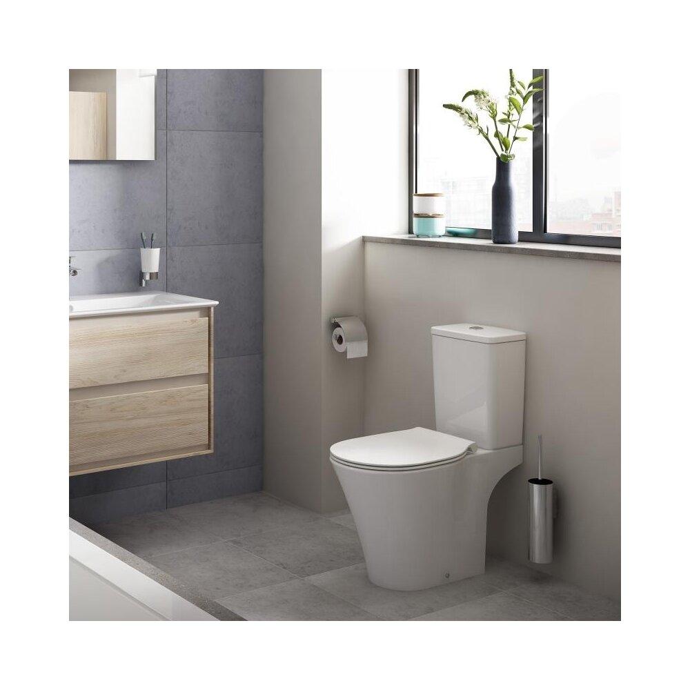 Vas wc pe pardoseala Ideal Standard Connect Air Rimless pentru rezervor asezat neakaisa.ro