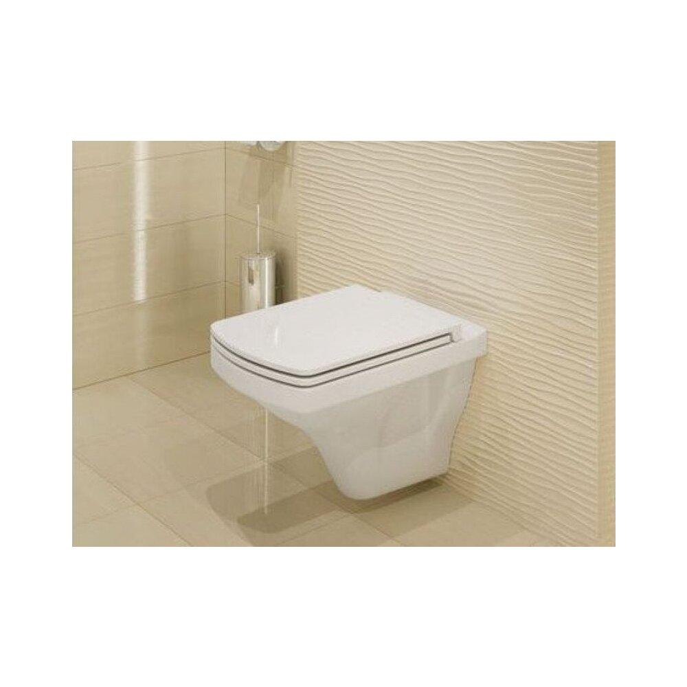 Vas wc suspendat Cersanit Easy New Clean On cu capac inchidere lenta neakaisa.ro