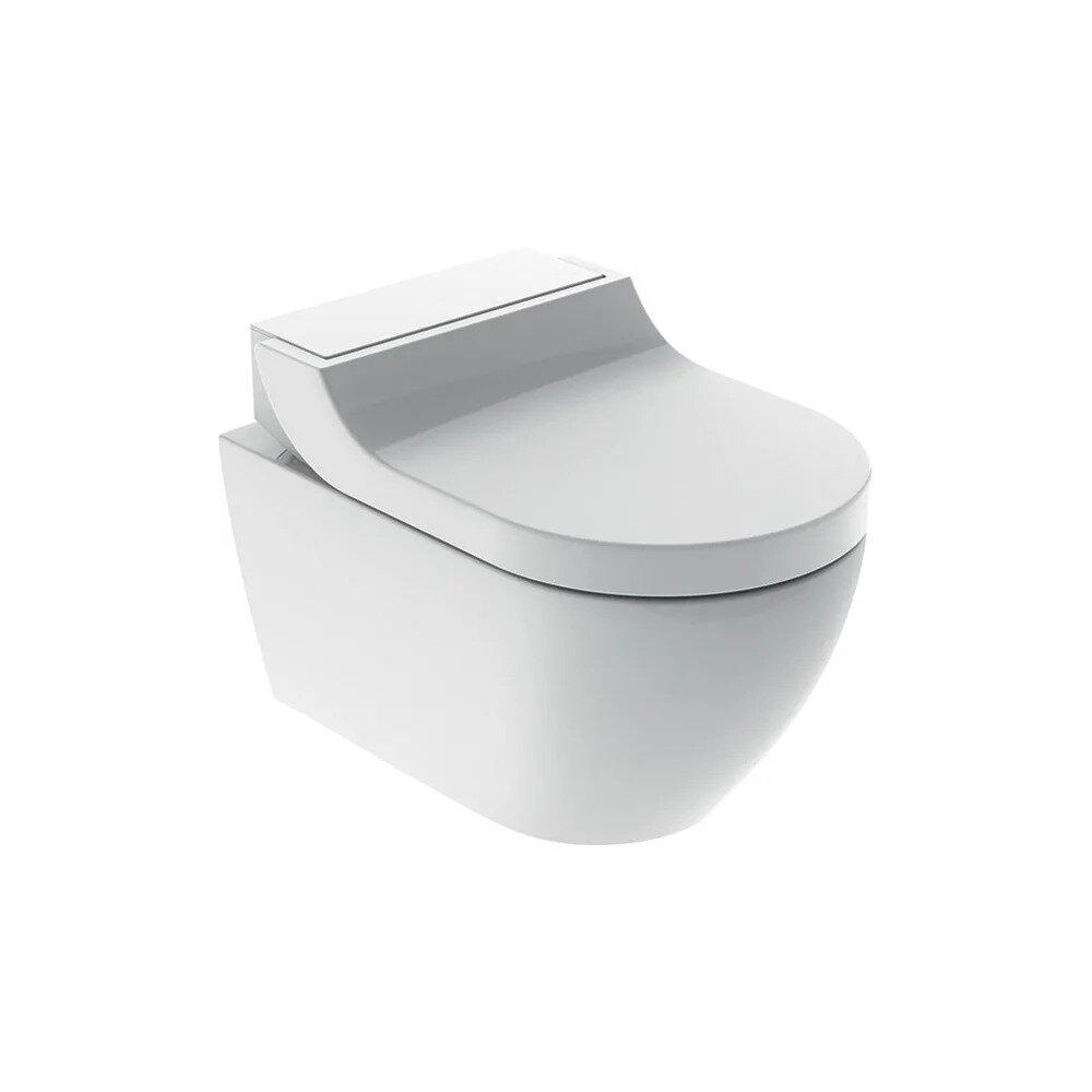 Vas wc suspendat Geberit Aquaclean Tuma Classic alb alpin cu functie de bideu electric