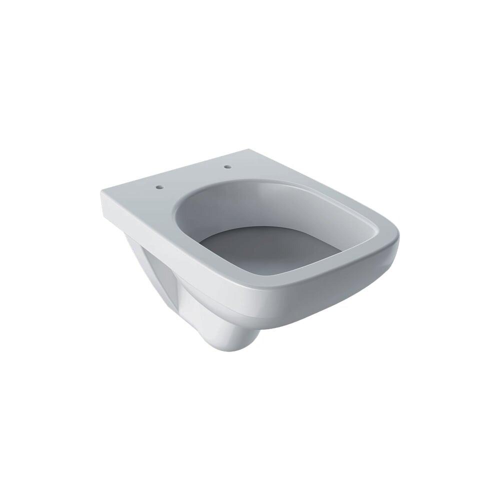 Vas wc suspendat Geberit Selnova Compact Proiectie scurta fara capac alb imagine