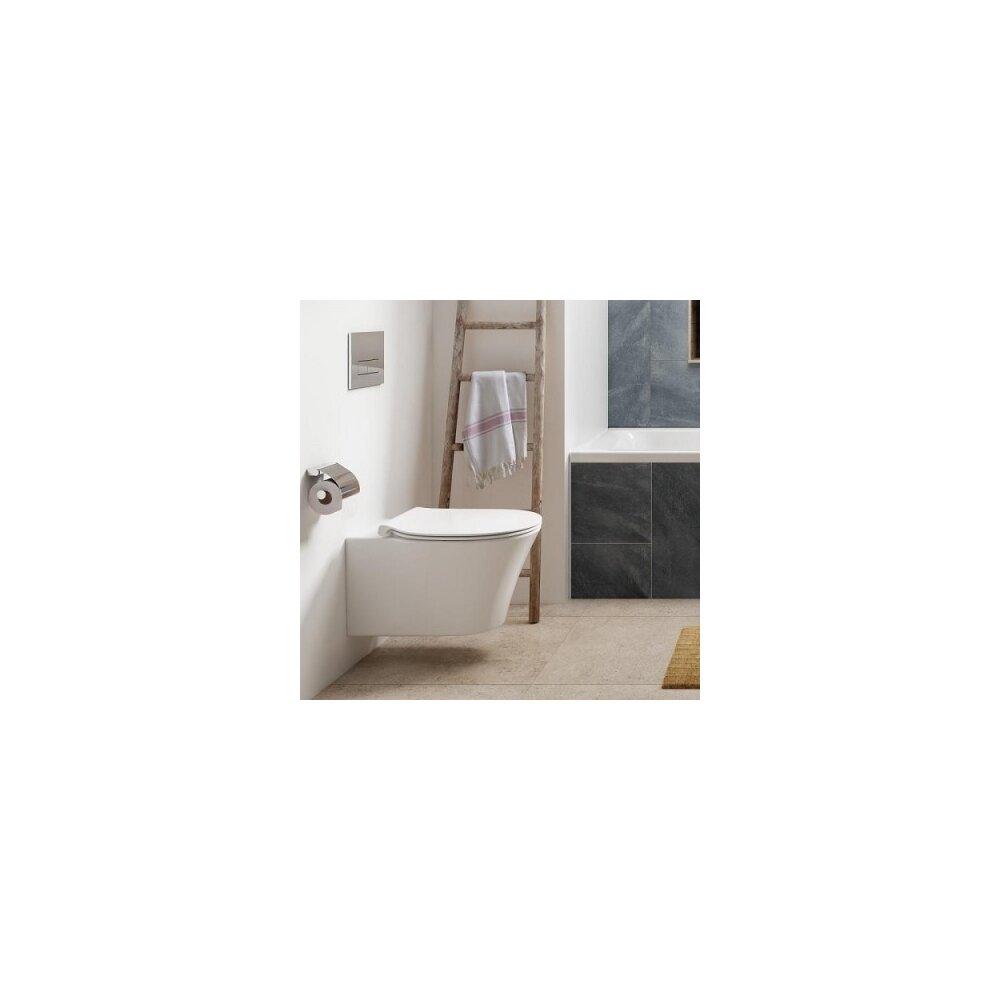 Vas wc suspendat Ideal Standard Connect Air Rimless imagine
