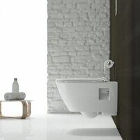 Vas wc suspendat Kolo Modo Rimfree cu capac inchidere lenta