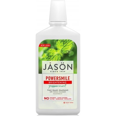 Apa de gura Power Smile ecologica pt albire si respiratie proaspata Jason 473ml