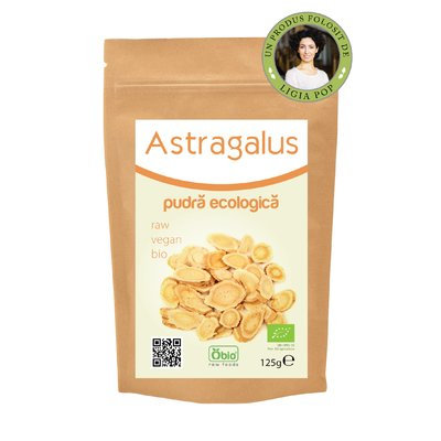 Astragalus pulbere raw bio 125 g PROMO