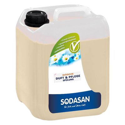 Balsam si parfumant ecologic pentru rufe 5L Sodasan