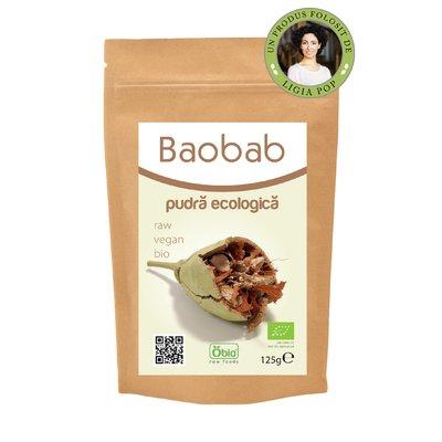 Baobab pulbere bio 125g