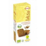 Biscuiti din spelta cu susan, indulciti cu agave bio 135g Bio Darma