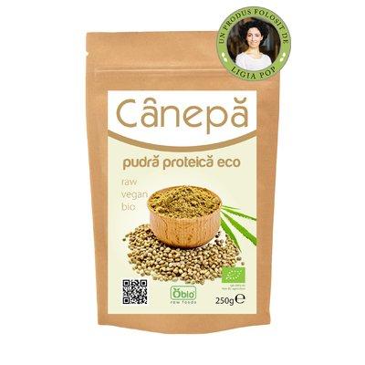 Canepa pudra proteica raw bio 250g
