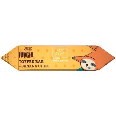 Caramela-baton cu banane bio 30g Super Fudgio 1 + 1 GRATIS