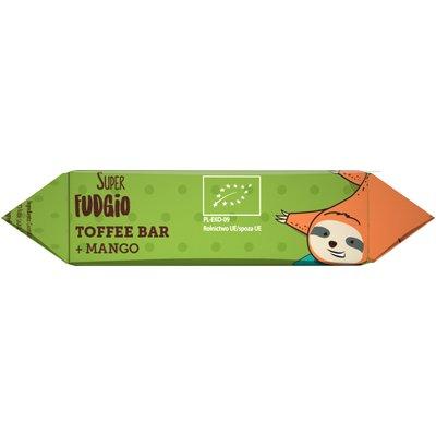 Caramela-baton cu mango bio 30g Super Fudgio 1 + 1 GRATIS