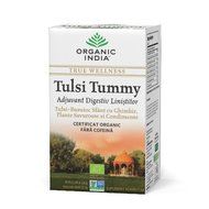 Ceai Digestiv Tulsi (Busuioc Sfant) Tummy cu Ghimbir, Plante Savuroase si Condimente, 32.4 gr