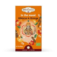 Ceai Shotimaa Chakras - In The Mood - hibiscus si portocale bio 16dz
