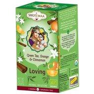 Ceai Shotimaa Chakras - Loving - ghimbir, portocala si scortisoara bio 16dz