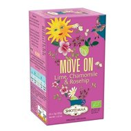 Ceai Shotimaa Sundial - Move on - lime, musetel si macese bio 16dz