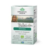 Ceai Tulsi (Busuioc Sfant) Original | Antistres Natural & Energizant, 32.4 gr