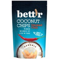 Chips de cocos cu chilli bio 70g Bettr PROMO