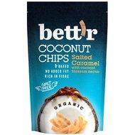Chips de cocos si caramel sarat bio 70g Bettr PROMO
