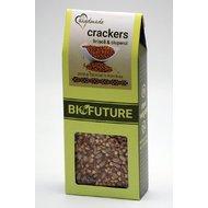 Crackers din hrisca cu ciuperci 100g