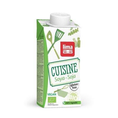 Crema de soia bio 200ml Lima