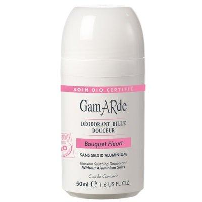 Deodorant natural roll-on cu aroma florala Gamarde bio 50ml