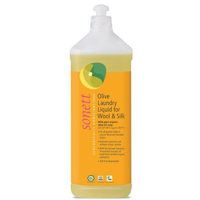 Detergent ecologic lichid pt. lana si matase 1L, Sonett