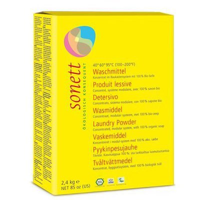Detergent ecologic praf pt. rufe 2.4 kg Sonett