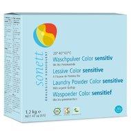 Detergent ecologic praf pt. rufe colorate, SENSITIVE 1.2 kg Sonett