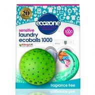 Ecoballs - Bila eco pt. spalarea rufelor, fara miros, 1000 spalari, Ecozone